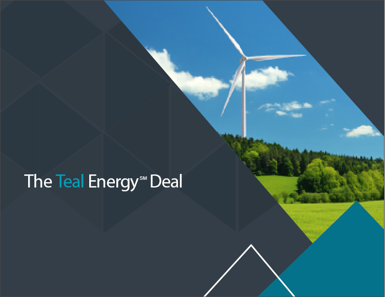 Insights image - The Teal Energy℠ Deal